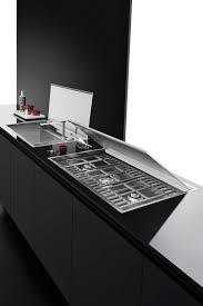 piano cottura a filo piano cottura lab incasso e filo da 120 barazza srl kitchen