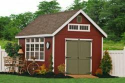 Backyard Storage Solutions New Backyard Portable Storage Sheds And Barns From The Amish