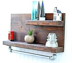 Decorate Bathroom Shelves Rustic Bathroom Shelves Size Of Decorating Ideas Farmhouse