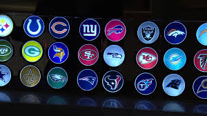 Nfl Motion Activated Light Up Decals By Lori Greiner With Lisa