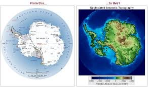 Antartica Map Antarctica Without The Ice U2013 Planetgeog Blog
