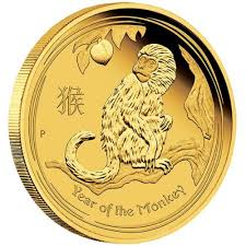new year gold coins australian lunar gold coin series ii 2016 year of the monkey gold