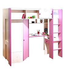 lit combiné bureau fille lit combine bureau lit combinac avec bureau et armoire camille lit