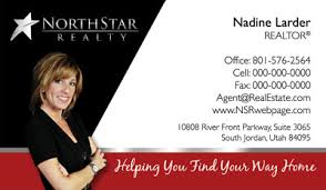 north star realty business cards 69 99 professionally designed