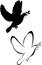 dove silhouette tattoo designs pictures to pin on pinterest