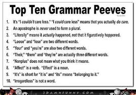 Meme Grammar - eng 373 rules project 1 pet peeve memes