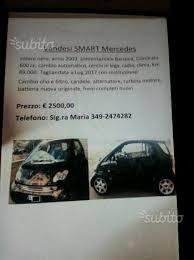 sostituzione candele smart smart fortwo 2皖 serie 2003 auto usata in vendita bari