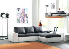 canape gris design articles with canape design noir et blanc cuir tag canape blanc