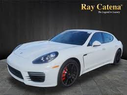 pre owned panamera porsche certified pre owned 2016 porsche panamera gts awd gts 4dr sedan in