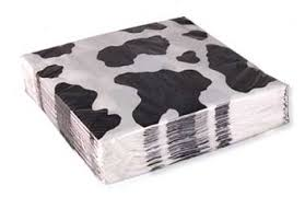 cow print wrapping paper cow print party supplies and favors