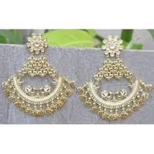 chandbali earrings buy chand bali earrings online at orne jewels