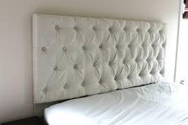 bedroom wonderful diy tufted upholstered headboard on