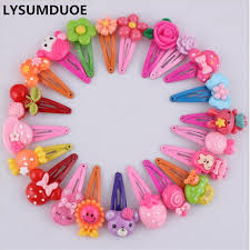 baby hair clip fashion barrette baby hair clip 10pcs flower solid