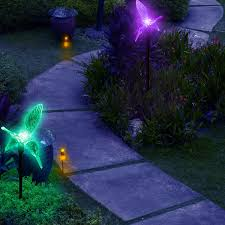 Solar Patio Lights Amazon by Amazon Com Solar Hummingbirds Holiday Decoration Pathway Lighting