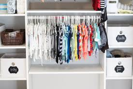 organization idea organize your closet with chalkboard labels