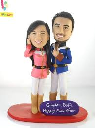 cake toppers bobblehead 155 best wedding cake toppers images on cake wedding