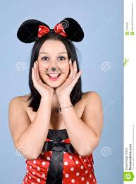 mickey mouse halloween makeup happy painted mouse stock photo image 12533000