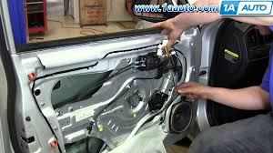 how to install replace front power window motor 2001 06 hyundai