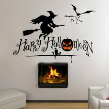 art poster halloween party decorations kids home decals pumpkin