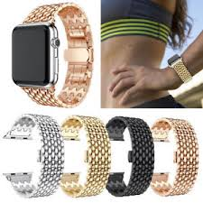 bracelet bands ebay images Band 40mm 44mm for apple watch iwatch series 4 metal strap link jpg