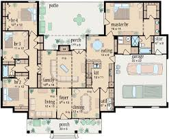 4 bedroom ranch floor plans ranch style house plans plan 18 333