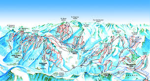 Piste Maps For Italian Ski by Sestriere Ski Sestriere Ski Resort Crystal Ski Holiday