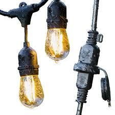 Commercial Grade String Lights by Amazon Com Advanced Outdoor String Lights By Conclarity Led 24