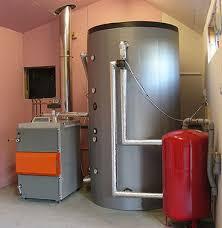 caldaia a pellet per riscaldamento a pavimento come realizzare un accumulo termico inerziale impianto con