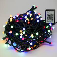 Home Depot Led String Lights Novolink Bundle 200 Light 8 Mm Mini Globe Multi Color Led String