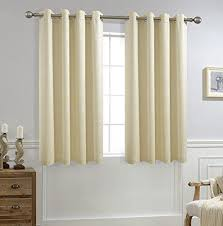63 Inch Curtains Allbright Jacquard Blackout Window Curtains Panels With Waterproof