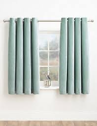 Teal Curtain Curtains Ready Made Net Eyelet Bedroom Curtains M S