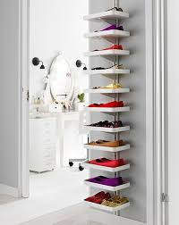 stylist inspiration shoe display shelves charming decoration best