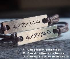 engraved bracelets couples bracelets personalized bracelets custom necklace