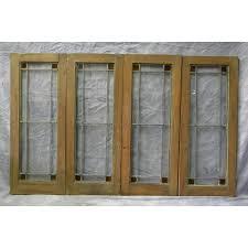 stained glass cupboard doors sold antique cabinet doors