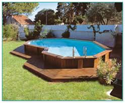 gorgeous above ground pool wood deck kits