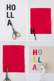 wooden letter templates holla 2 hot ways to make wooden wall art brit co first you will print out the word art templates next cut out each letter place each letter onto a different color of felt and trace each letter using