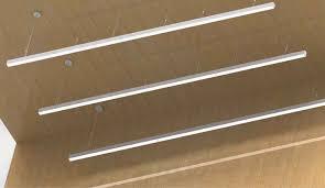 2 suspension linear led light bar led hanging linear lighting