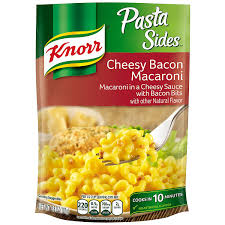 amazon com knorr pasta sides pasta side dish cheesy bacon