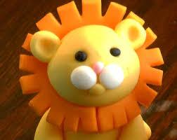 lion cake topper king of the jungle fondant lion cake topper