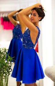 blue graduation dresses royal blue beaded homecoming dresses backless graduation dresses