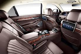 inside maybach is the genesis eq900l the south korean maybach