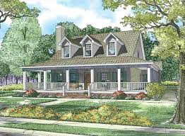 line House Southern Farmhouse With Wrap Around Porch Plan Quotes