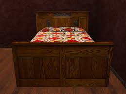 Arts And Craft Bedroom Furniture Second Marketplace Re Arts Crafts Mission Oak Single Bed