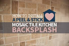 kitchen backsplash stick on modern fresh self adhesive backsplash tile peel and stick tile