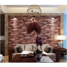 Papier Peint Briques Rouges by