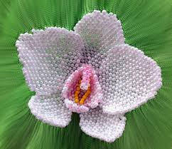 What Is An Orchid Flower - beaded peyote orchid flower tutorial flower tutorial tutorials