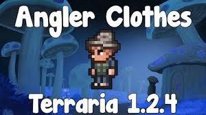 Terraria Vanity Clothes Angler Armor Terraria Wiki Fandom Powered By Wikia