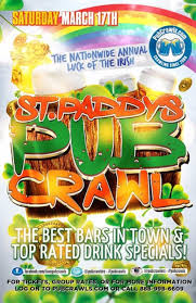 luck of the irish st patrick u0027s day pub crawl denver tickets