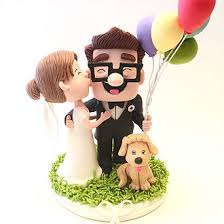up cake topper cake topper studio custom wedding cake topper