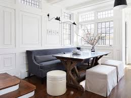 Beautiful Dining Room Sofa Seating Contemporary House Design - Dining room table with sofa seating